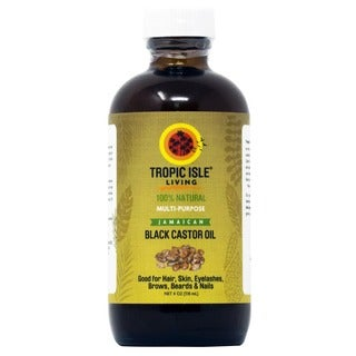 Tropic Isle Living Jamaican 4-ounce Black Castor Oil