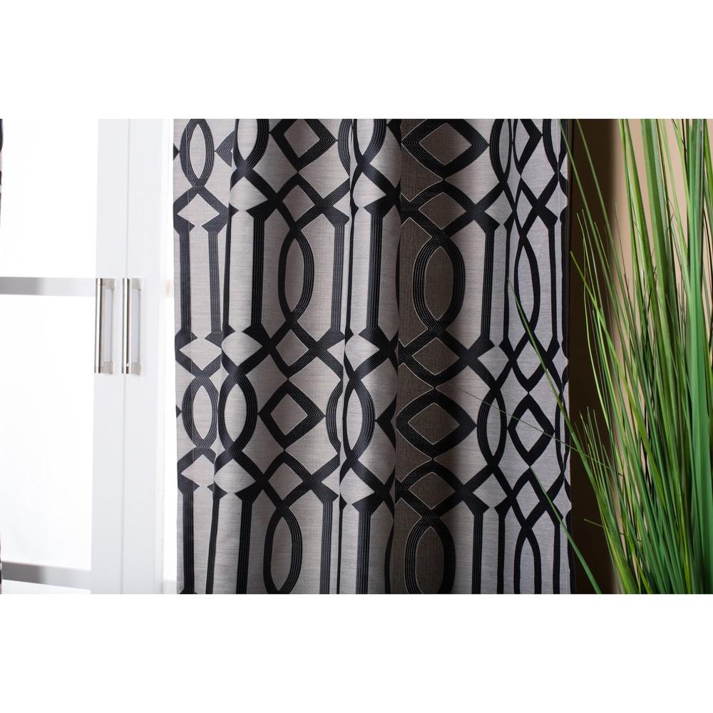 Shop Lambrequin Raja Jacquard Panel - 54 x 96 - 10592442