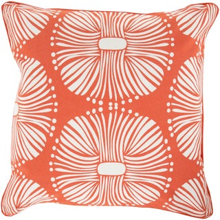 22-inch Poly or Down Filled Deacon Allium Throw Pillow
