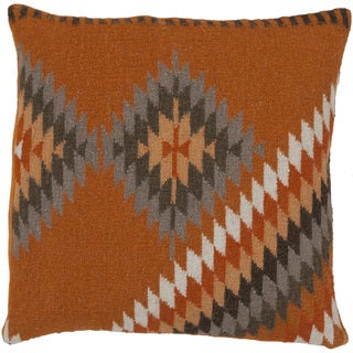 Decorative Shania Kilim Feather Down or Polyester Filled PIllow 18-inch