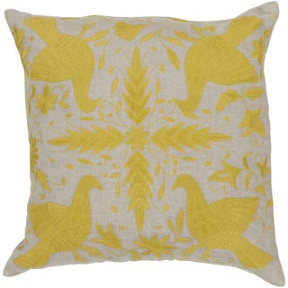 Decorative 20-inch Poly or Down Filled Marian Novelty Pillow