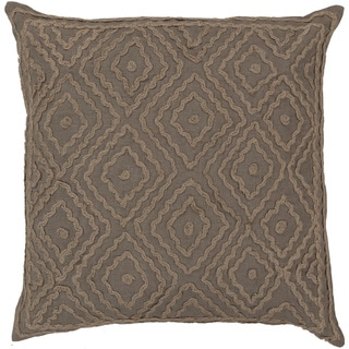 Decorative Sergio Geometric Feather Down or Polyester Filled PIllow 20-inch