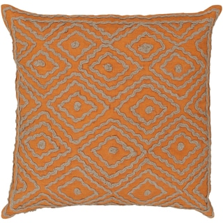 Decorative Sergio Geometric Feather/ Down or Polyester Filled PIllow 20-inch
