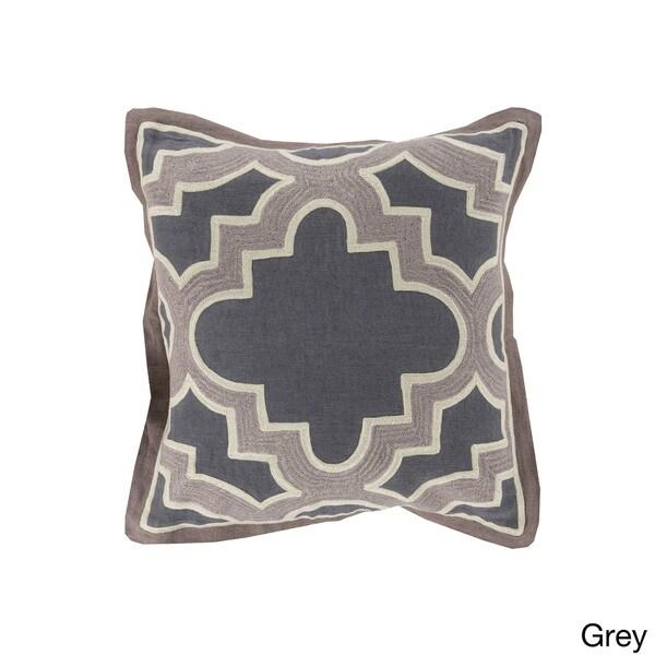 Decorative Bilston Medallion 20-inch Throw Pillow