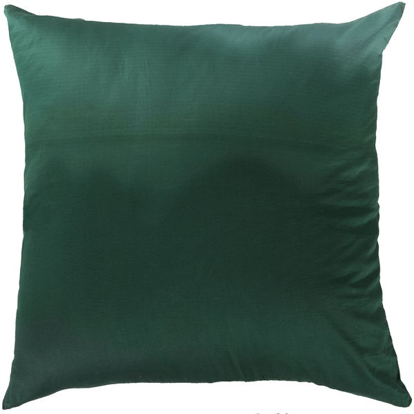 Decorative Dereham Tie-Dye Cotton Feather Down or Polyester Filled 22-inch Pillow