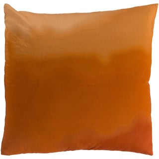 Decorative Dorking Tie-Dye Cotton Feather/ Down or Polyester Filled 22-inch Pillow