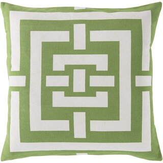 Decorative Candice Geometric Feather/ Down or Polyester Filled 20-inch Throw Pil