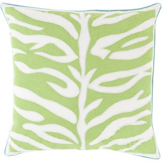 Decorative Claude Animal Feather/ Down or Polyester Filled 18-inch Pillow