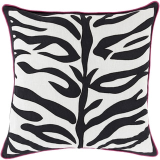 Decorative Corban Animal Feather/ Down or Polyester Filled 22-inch Pillow