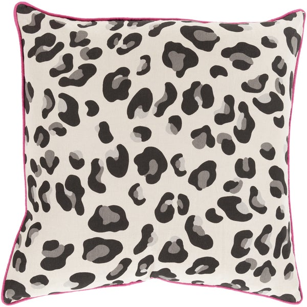 Decorative Delilah Feather Down or Polyester Filled Animal Pillow (22 x 22)