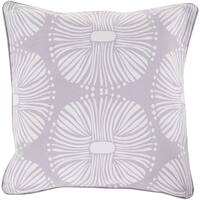 Decorative 18-inch Poly or Down Filled Deacon Allium Throw Pillow