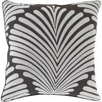 Decorative Tucker Graphic Print 18-inch Pillow