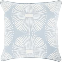 Decorative 18-inch Poly or Down Filled Deacon Allium Pillow