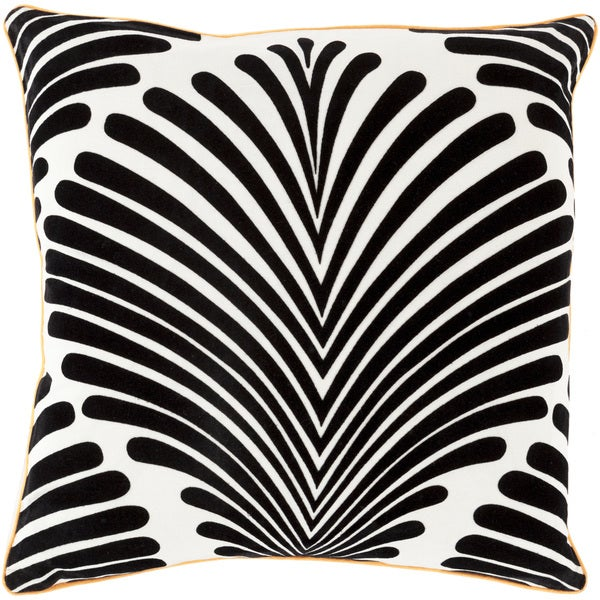 Decorative Tucker Graphic Print Feather/ Down or Polyester Filled Throw PIllow
