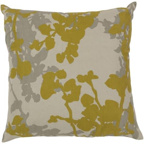 Decorative Brenda Flourish 20-inch Throw Pillow