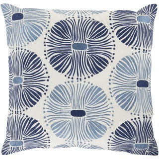 18-inch Poly or Down Filled Decorative Damien Allium Pillow