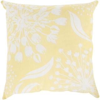 Decorative Cortez Floral 20-inch Throw Pillow