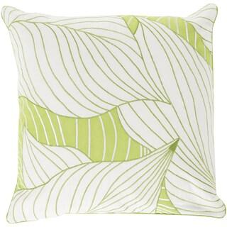 Decorative Cedric Hosta 20-inch Throw Pillow