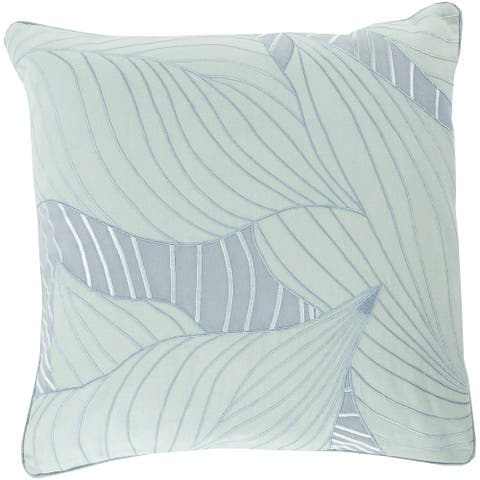 Decorative Cedric Hosta 22-inch Pillow