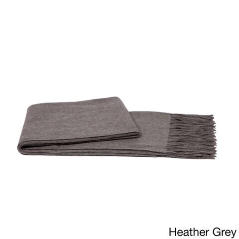 Cashmere & Wool Blend Waterweave Throw