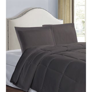 Microfiber 2 Inch Flange 2- Pack Tailored Standard Size Sham Set