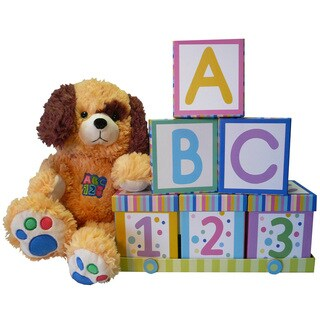 Art of Appreciation ABC's and 123's Neutral Baby Gift Set - abc-123 - LARGE