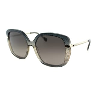 Emilio Pucci Women's EP 743S 037 Ellise on Grey Square Plastic Sunglasses