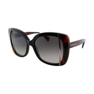 Emilio Pucci Women's EP 741S 001 Ebony Plastic Butterfly Sunglasses