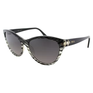 Emilio Pucci Women's EP 715S 006 Baby Zebra Plastic Cat Eye Sunglasses