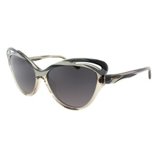 Emilio Pucci Women's EP 713S 029 Graphite Plastic Cat Eye Sunglasses