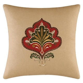 Constantine Embroidered 16 Inch Throw Pillow