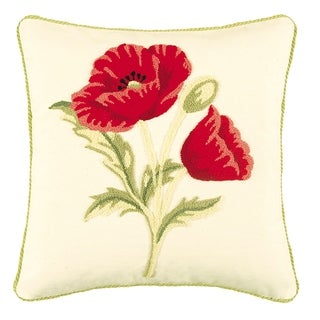 Poppy Tufted 18 Inch Throw Pillow