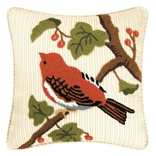 Finch Tufted 18 Inch Throw Pillow