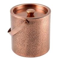 Cambridge Silversmiths Dunham Gunmetal 3-Quart Ice Bucket