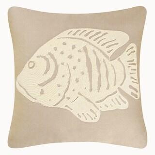 Fish Rice Stitch Pillow