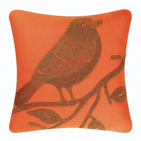 Bird Rice Stitch 18 Inch Throw Decorative Accent Throw Pillow