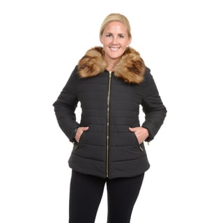 Excelled Women's Plus Polyester Puffer