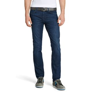 Hugo Boss Green Drake 1 Dark Blue Cotton Classic Slim Skinny Denim Jeans