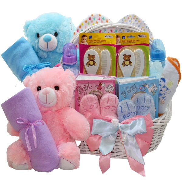 Double The Fun Twin Babies Gift Basket