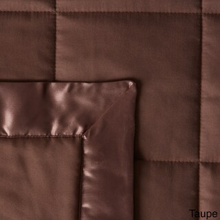 Down Alternative Blanket with Satin Trim (More options available)