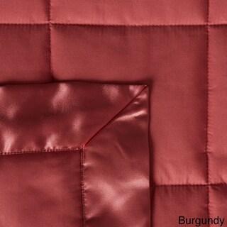 Down Alternative Blanket with Satin Trim