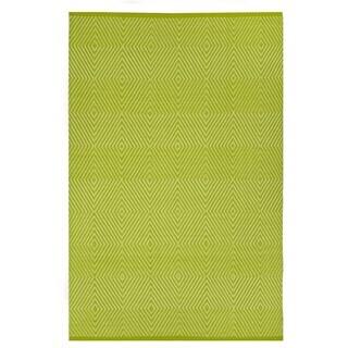 Zen - Green & White (2' x 3')