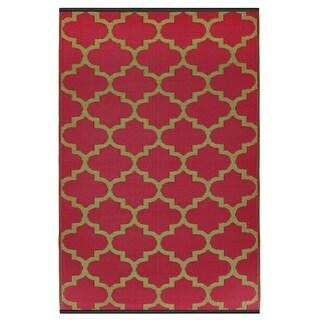 Tangier - Pinkberry & Bronze (3' x 5')