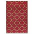 Handmade Tangier - Pinkberry & Bronze (3' x 5') (India)