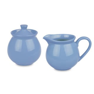 Waechtersbach Fun Factory Blue Bell Creamer/Sugar Set