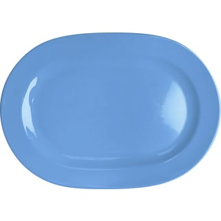 Waechtersbach Fun Factory Blue Bell Oval Platters (Set of 2)