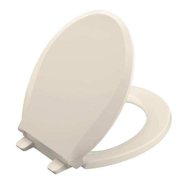 Kohler Cachet Quiet Close Round Closed Front Toilet Seat