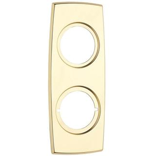 Kwikset Polished Brass Vertical Combo