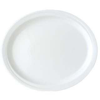 Hotel Line 14-inch Oval Platter