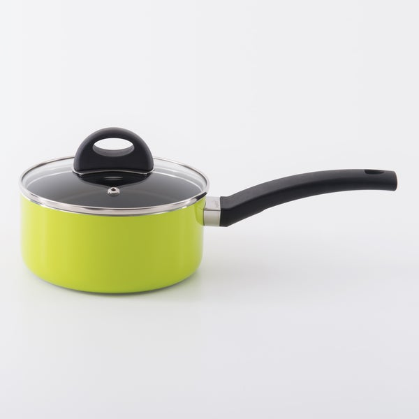 Eclipse 6.25-inch Lime Covered Sauce Pan